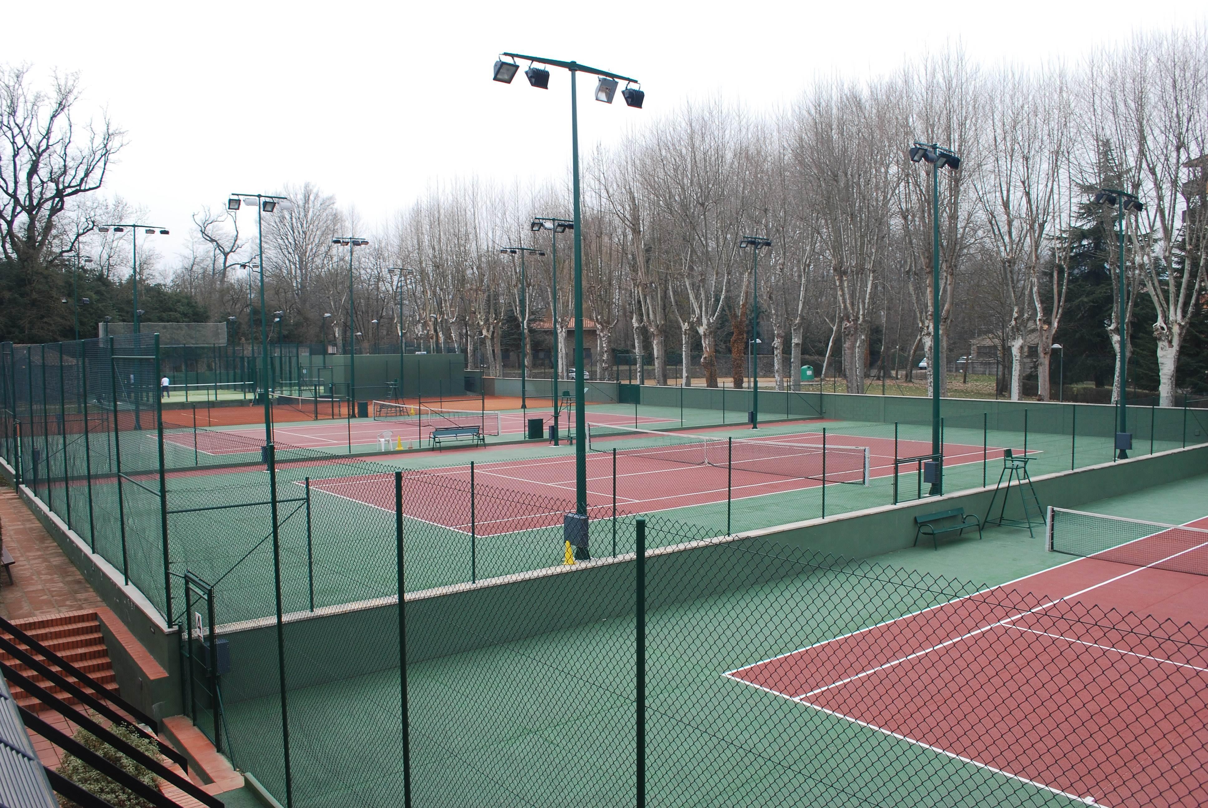pistes tennis